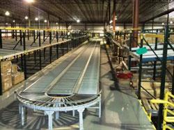 Accumulating-conveyor